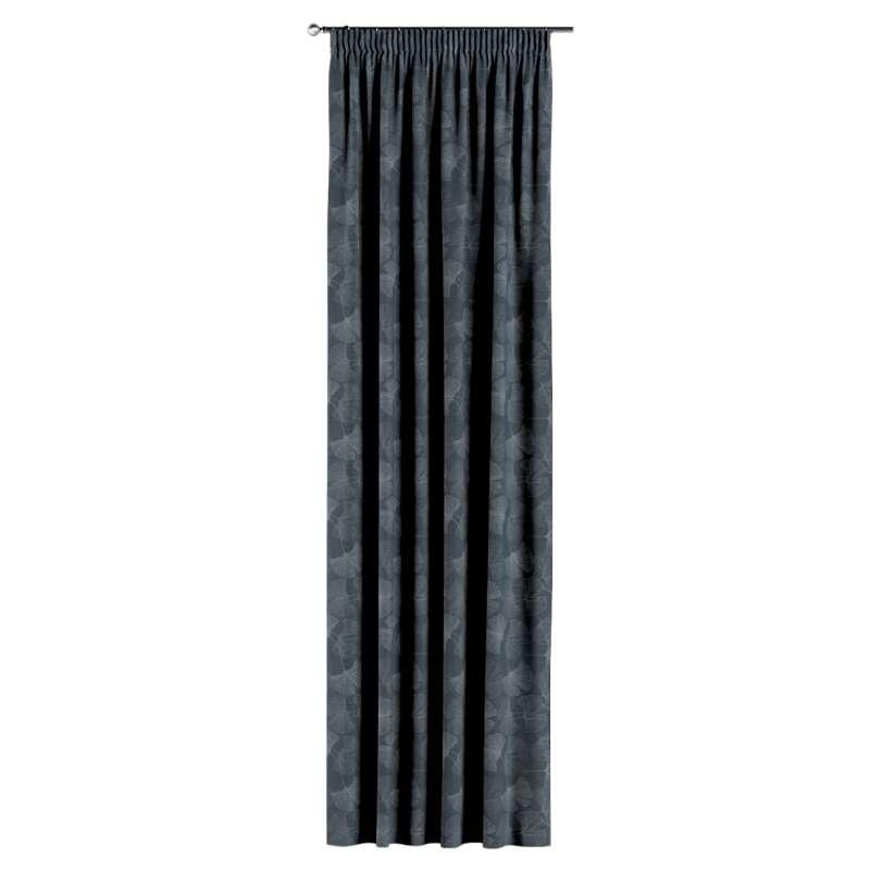 Gardin med rynkband 1 längd i kollektionen Venice, Tyg: 143-52