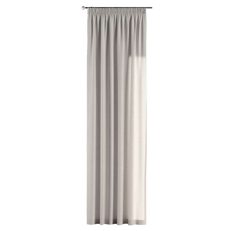 Pencil pleat curtain in collection Linen, fabric: 159-07