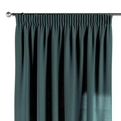 Záves na riasiacej páske V kolekcii Linen, tkanina: 159-09