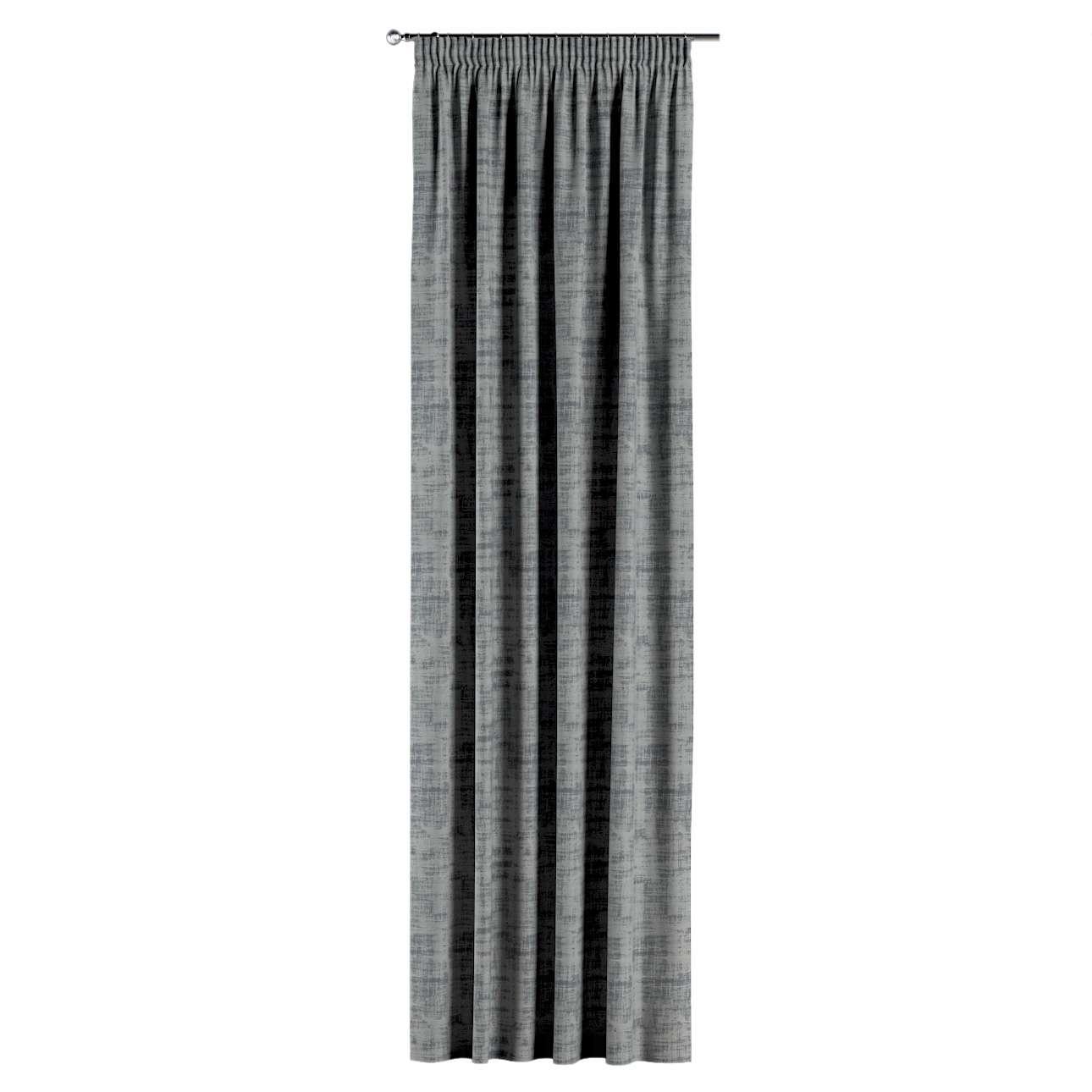Gordijn met plooiband van de collectie Velvet, Stof: 704-32