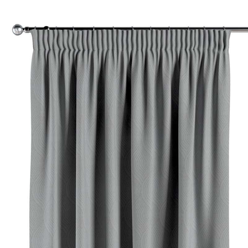 Vorhang mit Kräuselband von der Kollektion Blackout (verdunkelnd), Stoff: 269-19