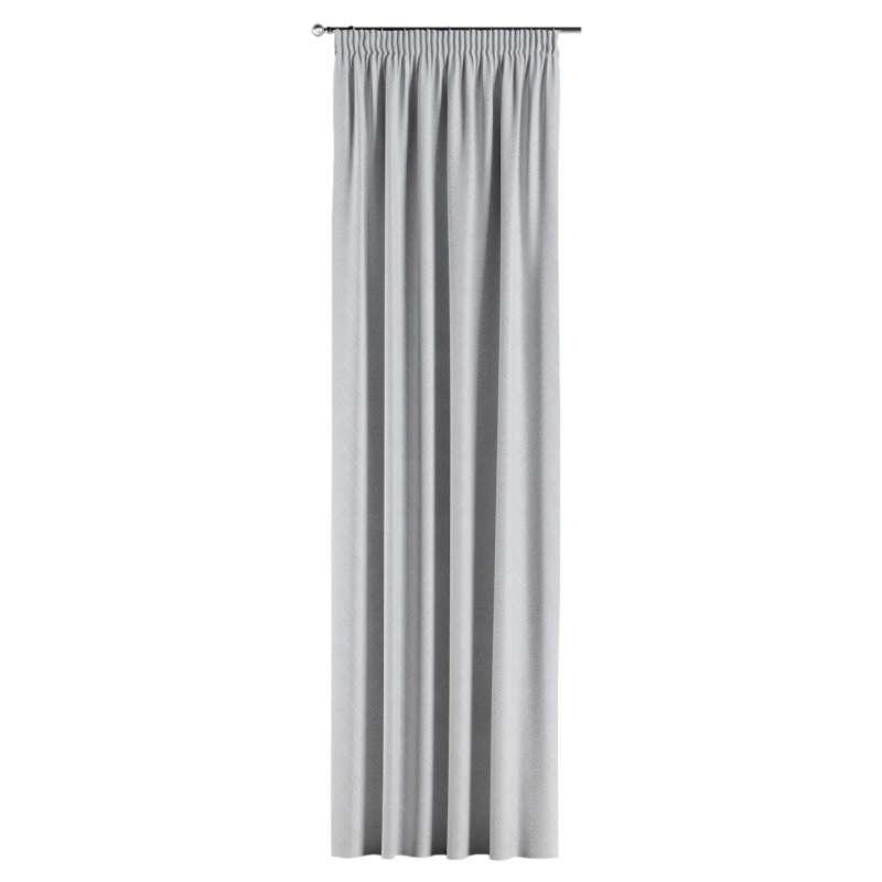 Gardin med rynkband 1 längd i kollektionen Sunny, Tyg: 143-43