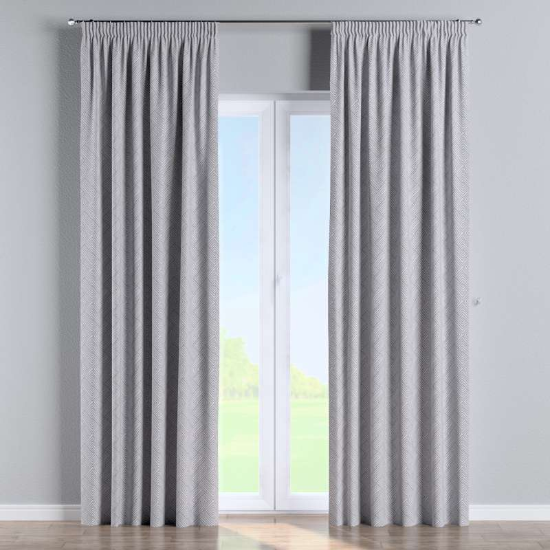 Pencil pleat curtain in collection Sunny, fabric: 143-45