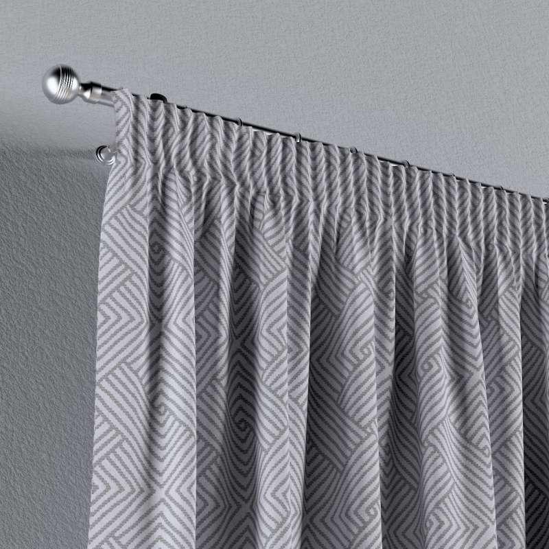 Vorhang mit Kräuselband von der Kollektion Sunny, Stoff: 143-45