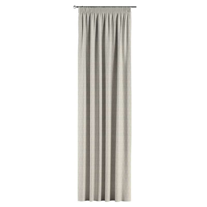 Pencil pleat curtain in collection Sunny, fabric: 143-49