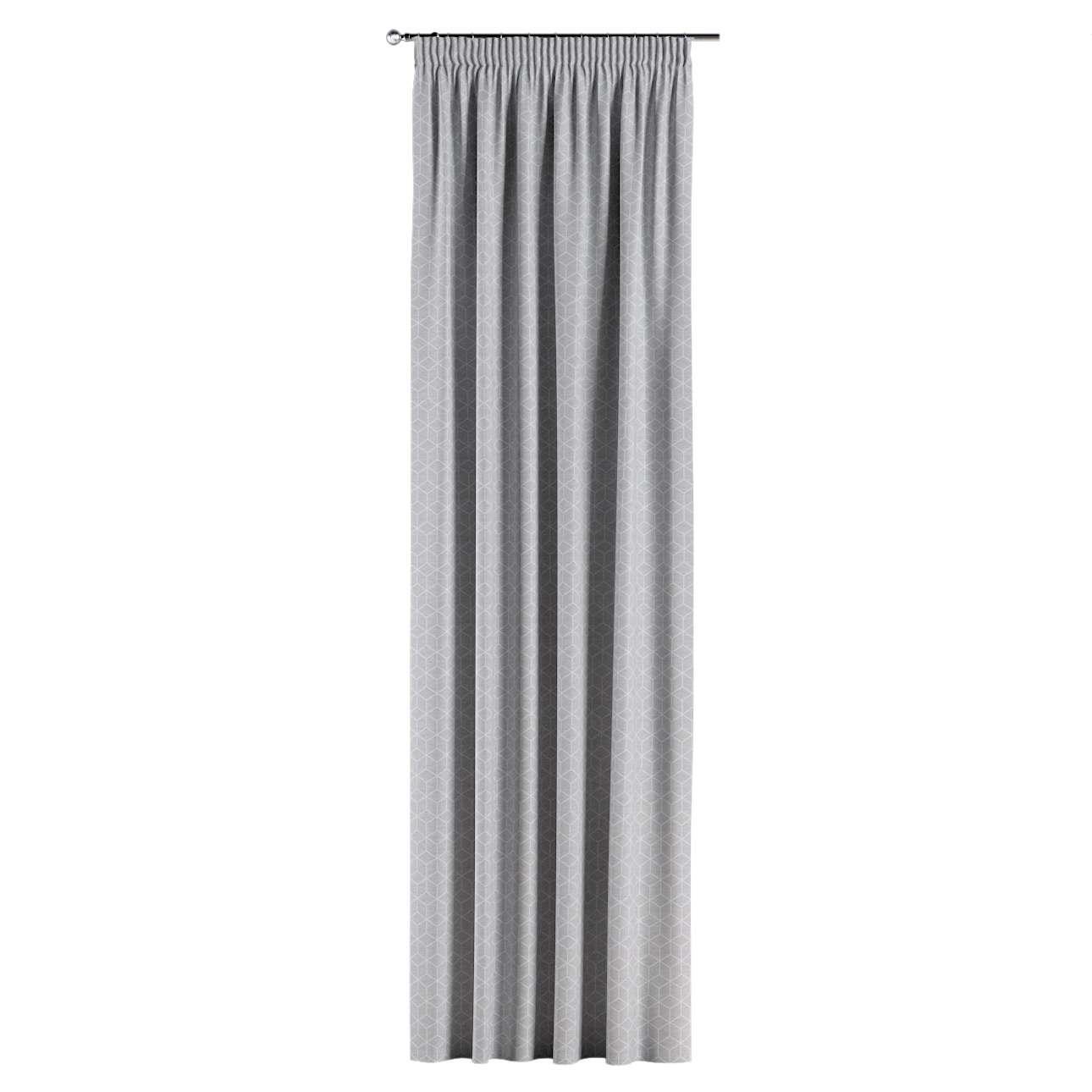 Vorhang mit Kräuselband von der Kollektion Sunny, Stoff: 143-50