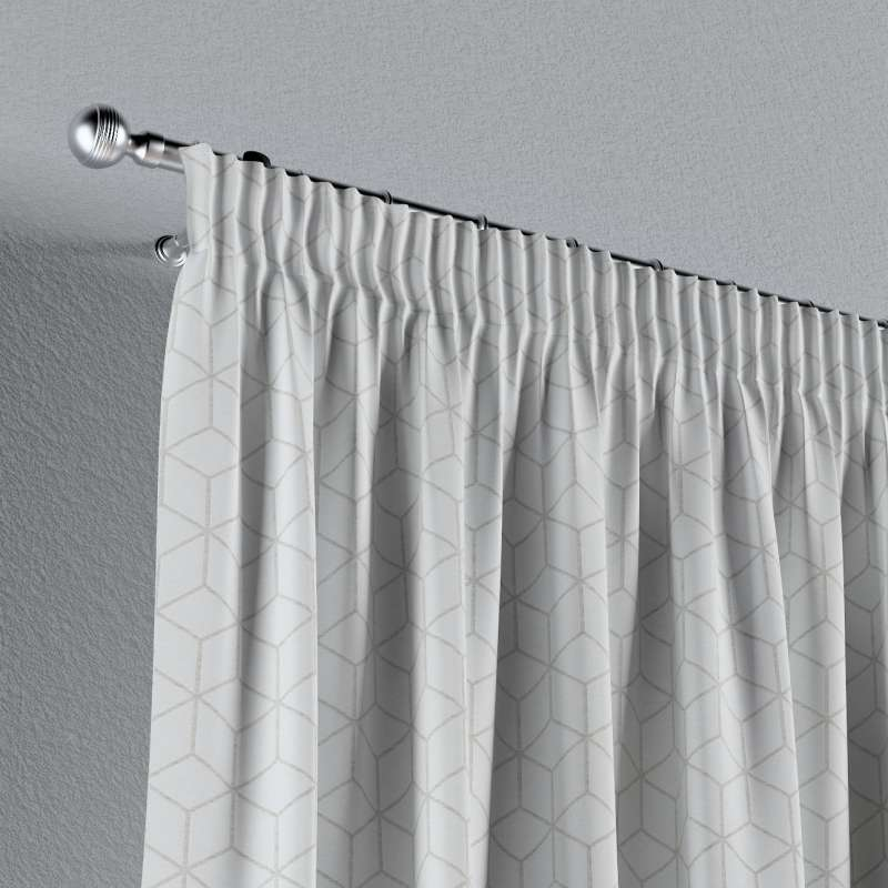 Vorhang mit Kräuselband von der Kollektion Sunny, Stoff: 143-51