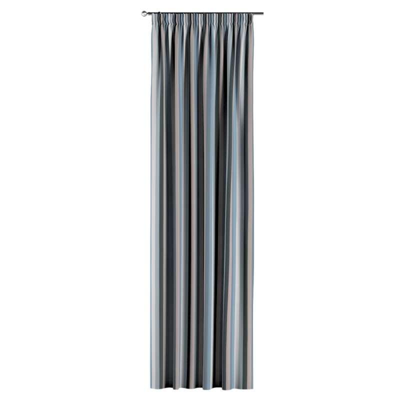 Gardin med rynkband 1 längd i kollektionen Vintage 70's, Tyg: 143-57