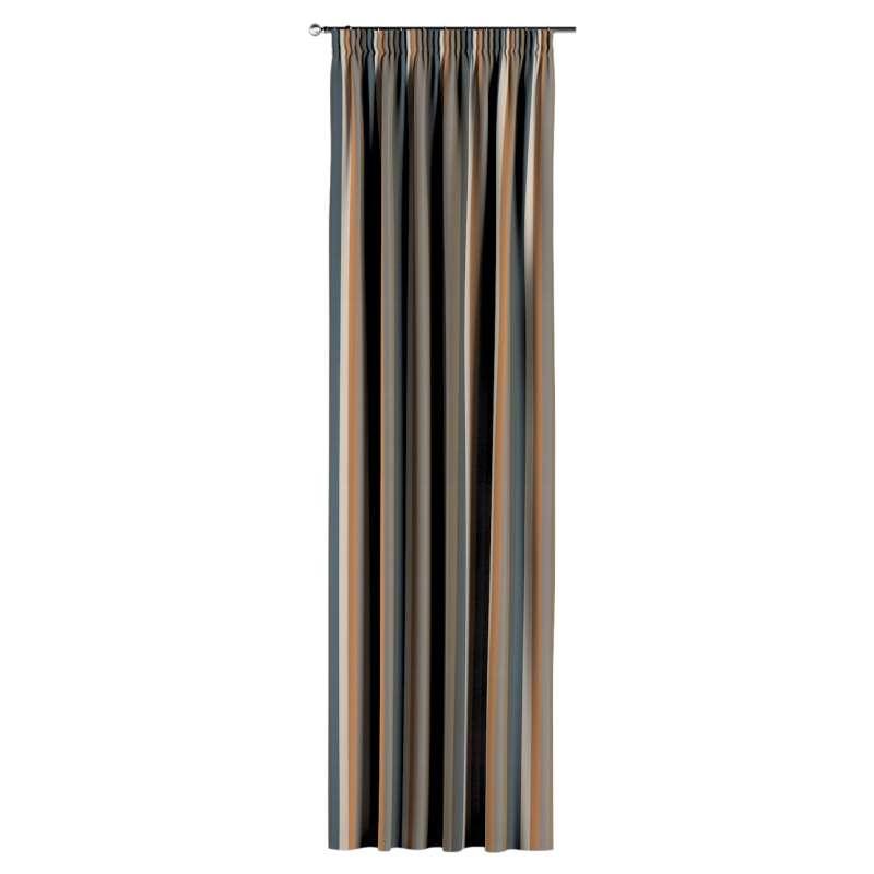 Gardin med rynkebånd 1 stk. fra kolleksjonen Vintage 70's, Stoffets bredde: 143-58