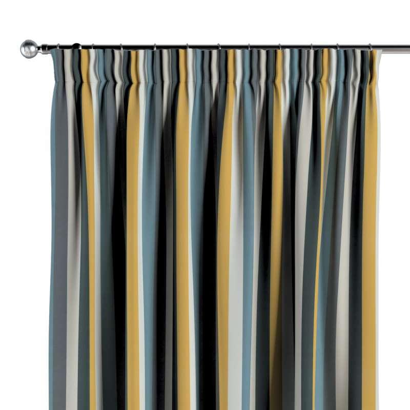 Függöny ráncolóval a kollekcióból Vintage 70's, Dekoranyag: 143-59