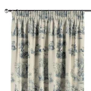 Vorhang mit Kräuselband 130 x 260 cm von der Kollektion Avinon, Stoff: 132-66
