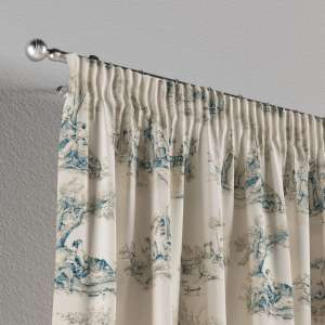 Pencil pleat curtains 130 x 260 cm (51 x 102 inch) in collection Avinon, fabric: 132-66