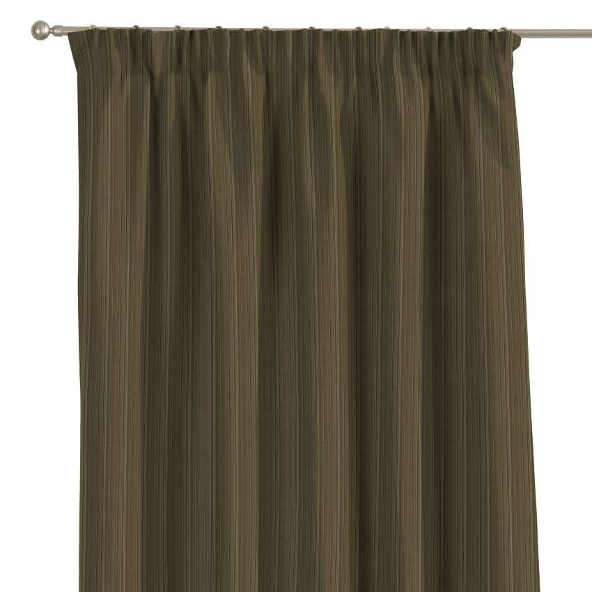 Pencil pleat curtains 130 x 260 cm (51 x 102 inch) in collection Odisea, fabric: 411-53