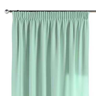 Pencil pleat curtains