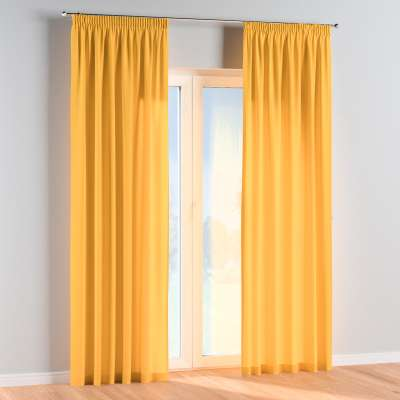 Vorhang mit Kräuselband 1 Stck. 133-40 gelb Kollektion Happiness