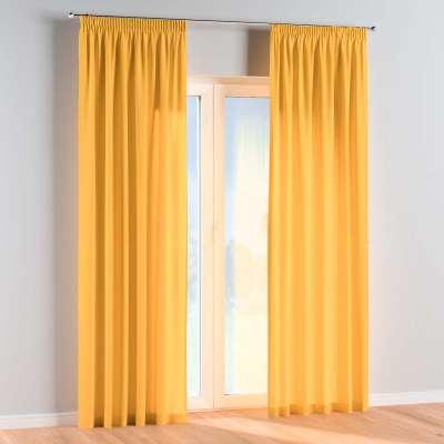 Závěs na řasící pásce 1 ks 133-40 slunečně žlutá Kolekce Happiness