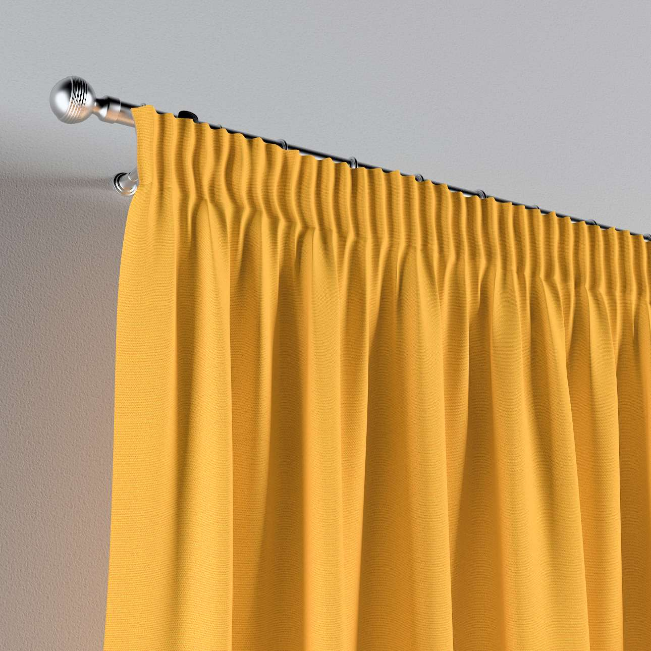 Pencil pleat curtains in collection Happiness, fabric: 133-40