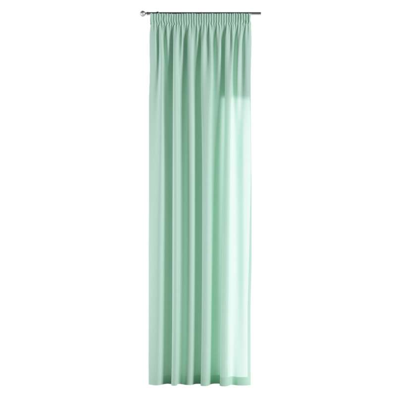 Pencil pleat curtain in collection Loneta , fabric: 133-37