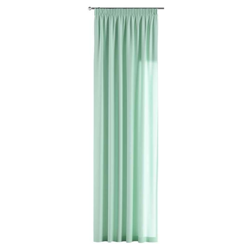 Vorhang mit Kräuselband von der Kollektion Loneta, Stoff: 133-37