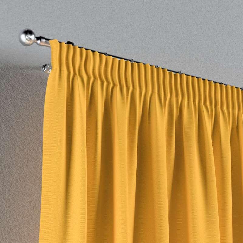 Vorhang mit Kräuselband von der Kollektion Loneta, Stoff: 133-40