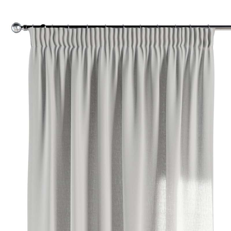 Pencil pleat curtains in collection Nature, fabric: 159-06