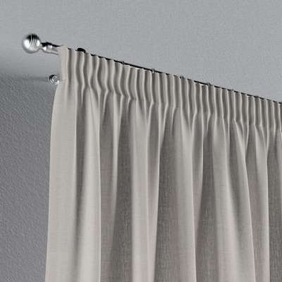 Pencil pleat curtains in collection Nature, fabric: 159-07