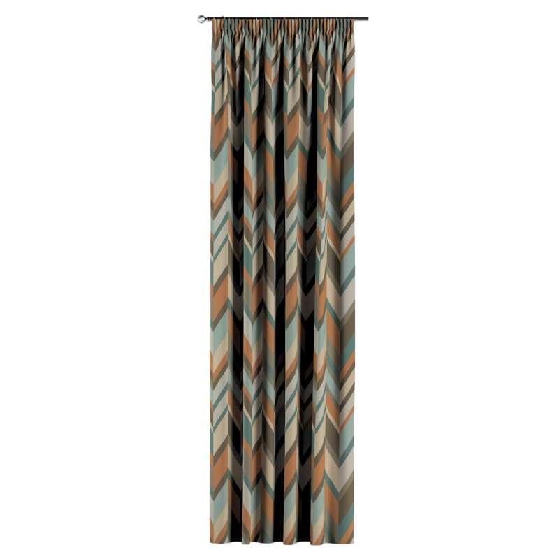 Gardin med rynkebånd 1 stk. fra kollektionen Vintage 70's, Stof: 143-62
