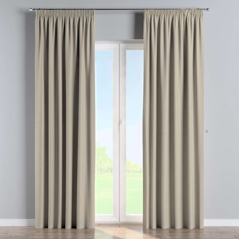 Pencil pleat curtain in collection Amsterdam, fabric: 704-52