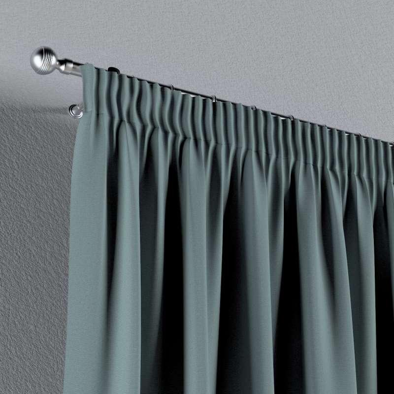 Vorhang mit Kräuselband von der Kollektion Cotton Panama, Stoff: 702-40