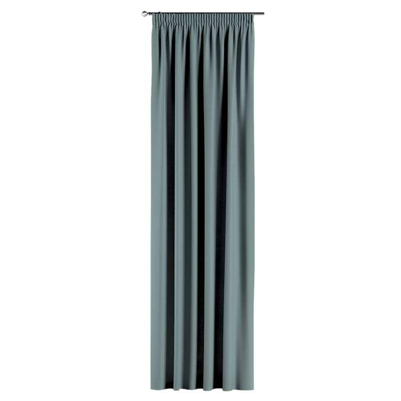 Gardin med rynkband 1 längd i kollektionen Panama Cotton, Tyg: 702-40