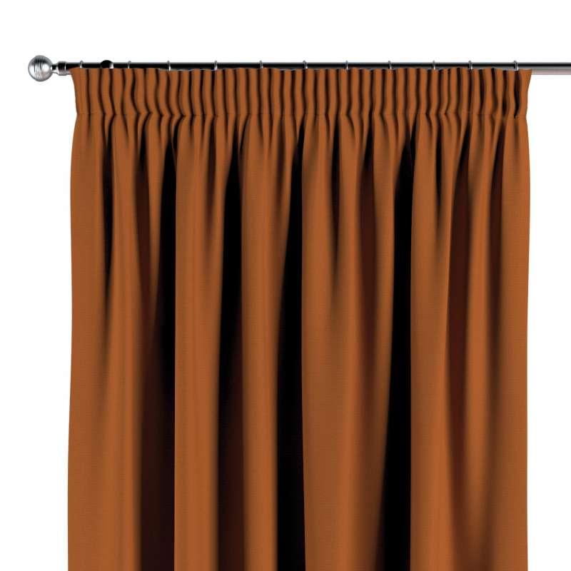 Vorhang mit Kräuselband von der Kollektion Cotton Panama, Stoff: 702-42