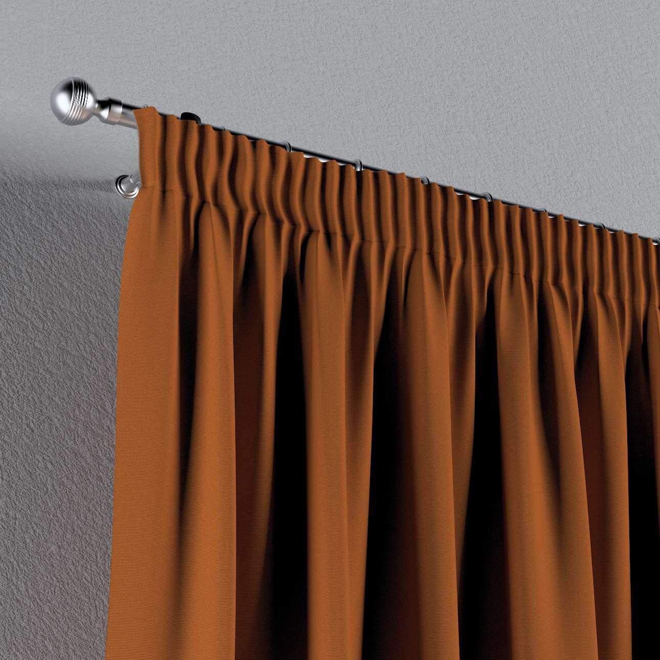 Záves na riasiacej páske V kolekcii Cotton Panama, tkanina: 702-42