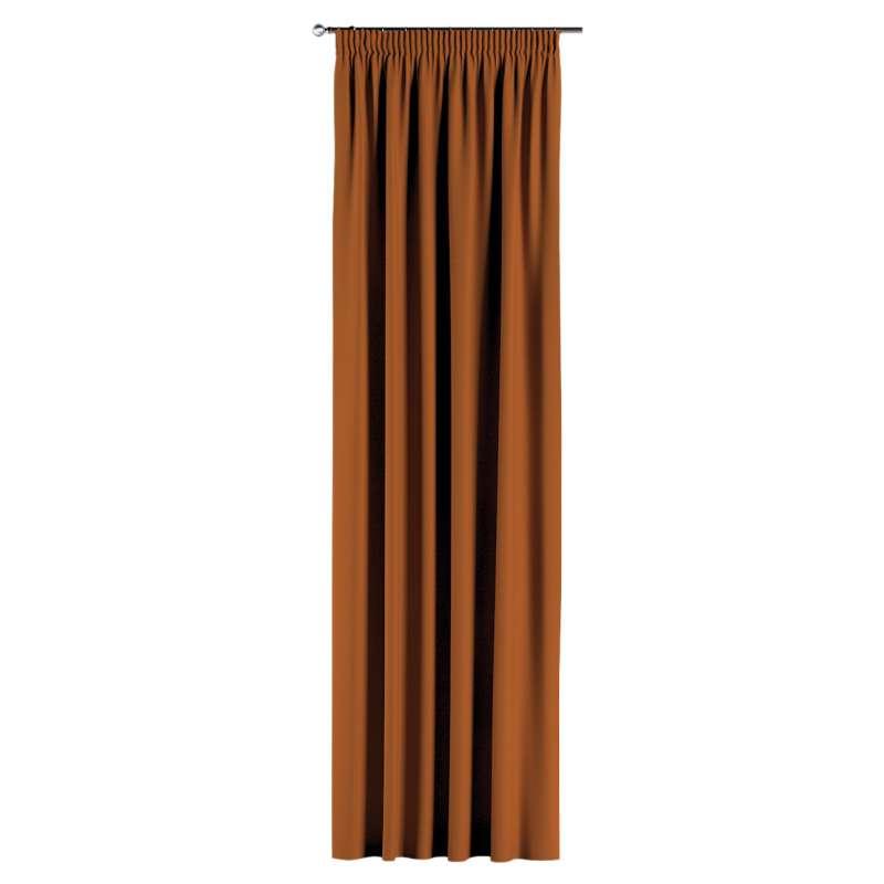 Gardin med rynkband 1 längd i kollektionen Panama Cotton, Tyg: 702-42