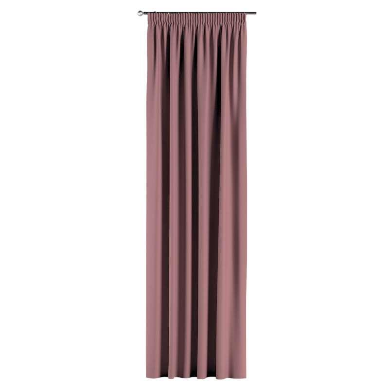 Vorhang mit Kräuselband von der Kollektion Cotton Panama, Stoff: 702-43