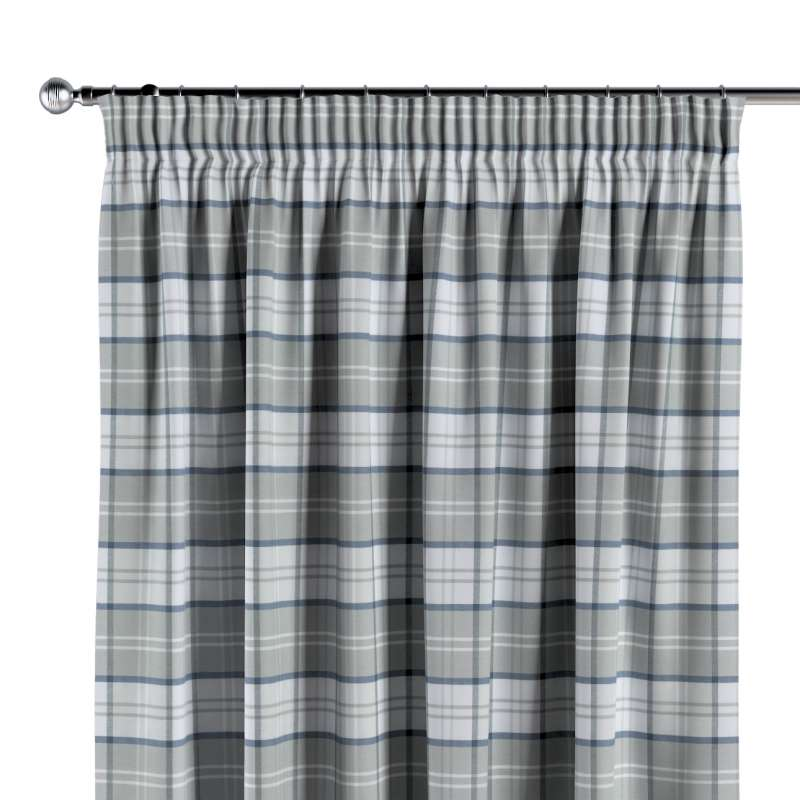 Pencil pleat curtain in collection Bristol, fabric: 143-65