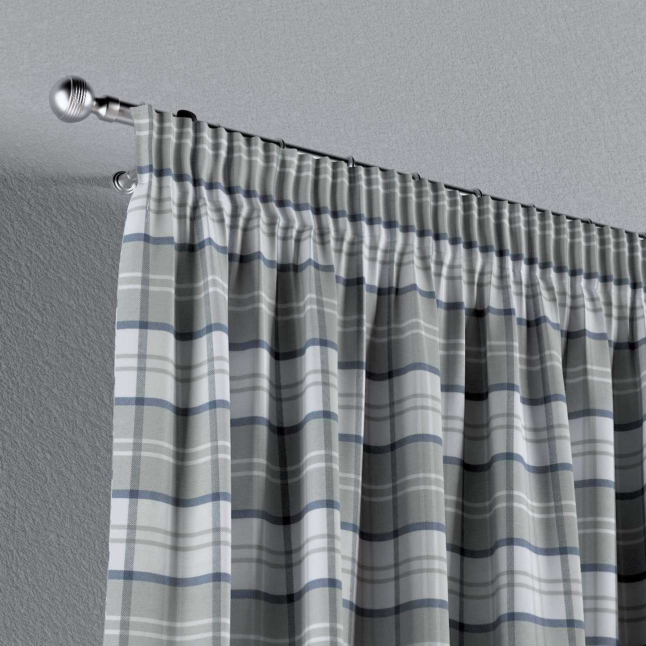 Vorhang mit Kräuselband von der Kollektion Bristol, Stoff: 143-65