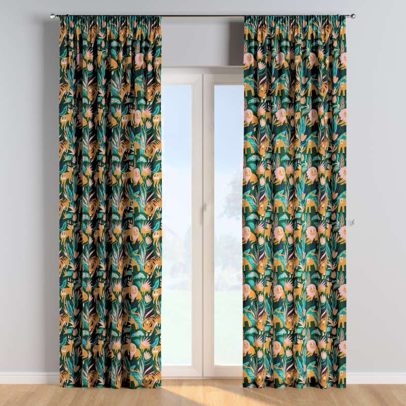 Pencil pleat curtains in collection Magic Collection, fabric: 500-42
