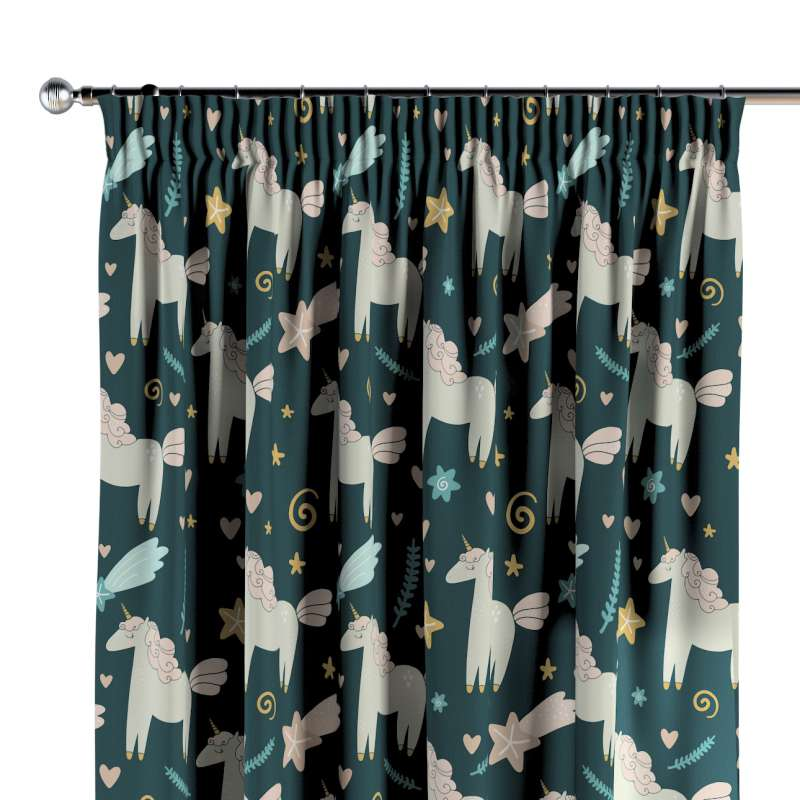 Pencil pleat curtains in collection Magic Collection, fabric: 500-43