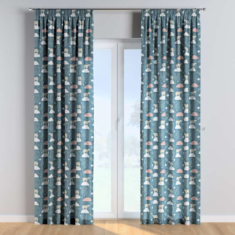 Pencil pleat curtains in collection Magic Collection, fabric: 500-45