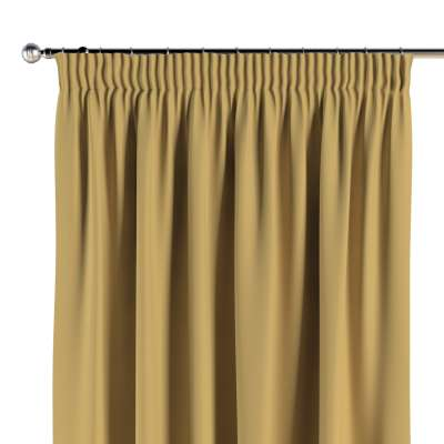 Pencil pleat curtains 702-41 yellow Collection Cotton Story