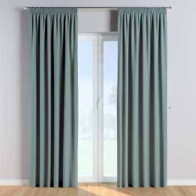 Vorhang mit Kräuselband 1 Stck. 702-40 eukaliptusowy błękit Kollektion Cotton Story