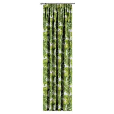 Zasłona na taśmie marszczącej 1 szt. w kolekcji Tropical Island, tkanina: 143-63