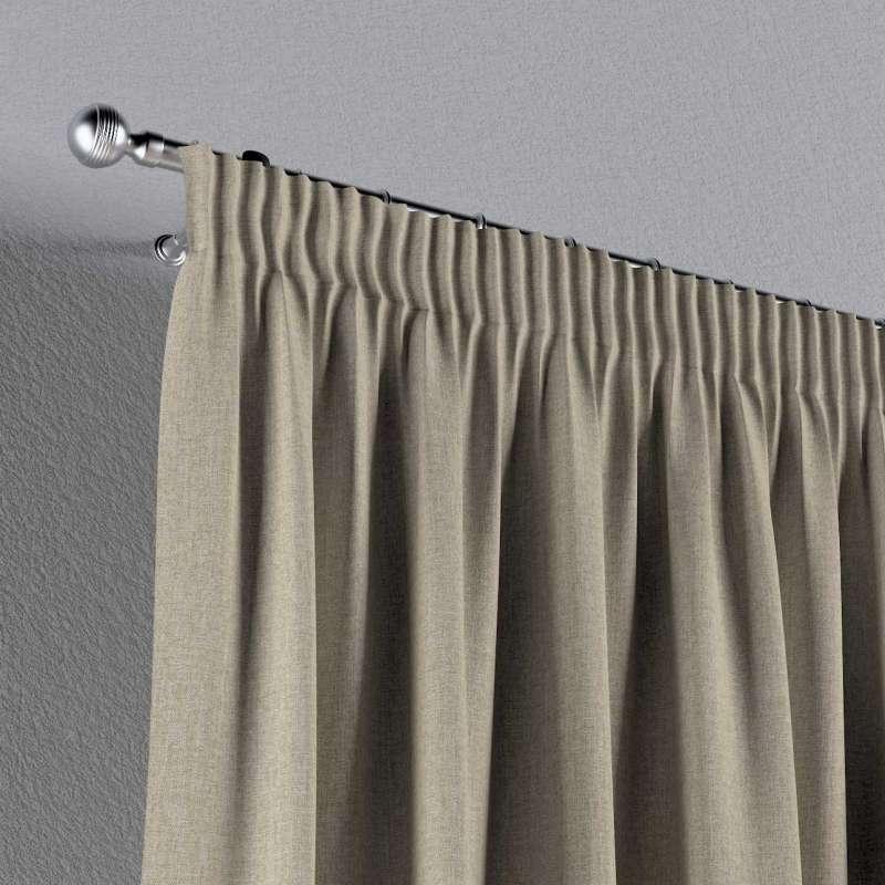 Vorhang mit Kräuselband von der Kollektion City, Stoff: 704-80
