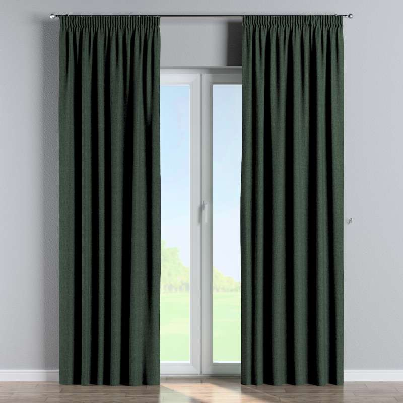 Pencil pleat curtain in collection City, fabric: 704-81