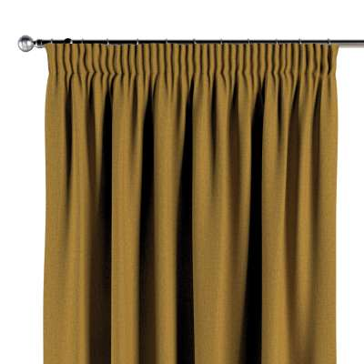 Pencil pleat curtain 704-82 honey chenille Collection City