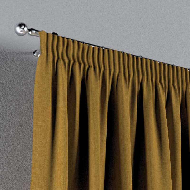 Vorhang mit Kräuselband von der Kollektion City, Stoff: 704-82