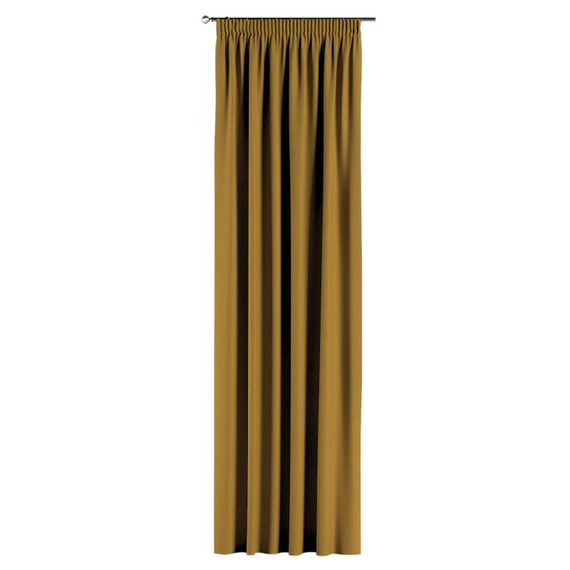 Pencil pleat curtain in collection City, fabric: 704-82