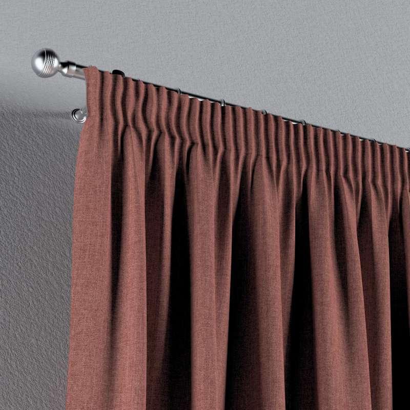 Vorhang mit Kräuselband von der Kollektion City, Stoff: 704-84