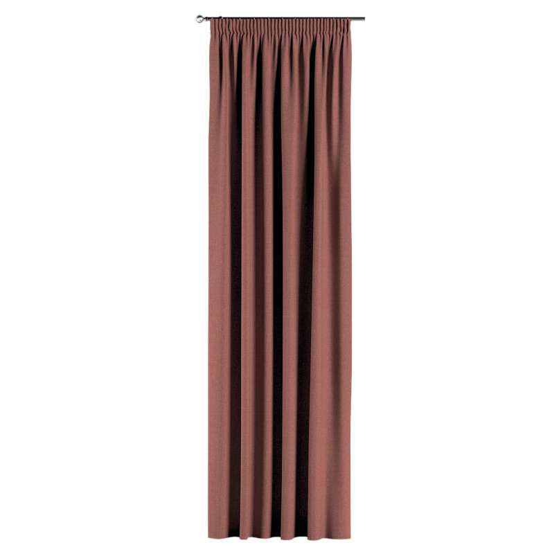 Pencil pleat curtain in collection City, fabric: 704-84