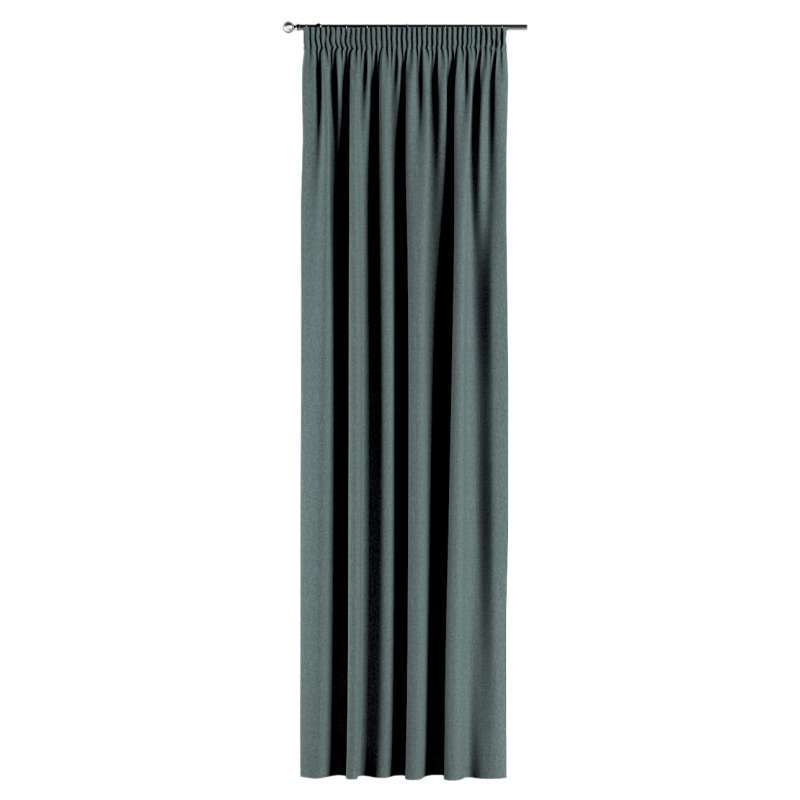 Vorhang mit Kräuselband von der Kollektion City, Stoff: 704-85